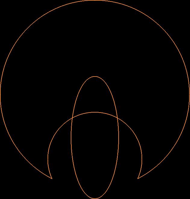 logo line orange